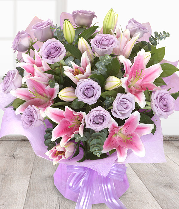 Luxury Roses & Lilies