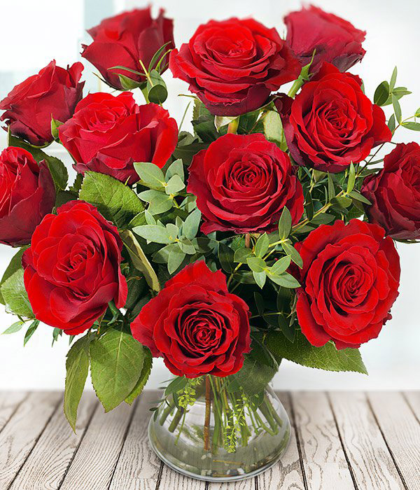Devoted Red Roses