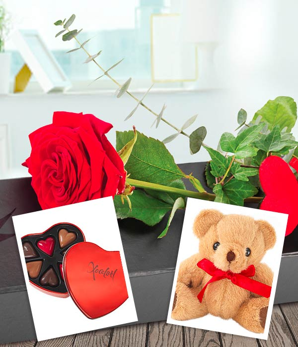 single rose bundle - make this valentine's day extra special, Ideas